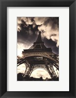 Framed Eiffel Tower (vertical)