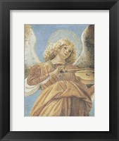 Framed Angel with Violin