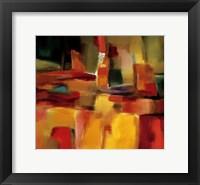 Framed Harmonious Space