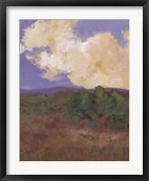 Framed Mountain Meadow I