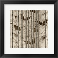 Framed Fluttering Leaves