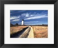Framed Cape Poge Lighthouse