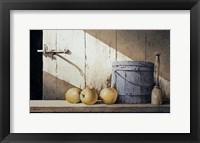 Framed Apple Butter