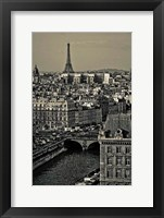 Framed Paris Rooftops
