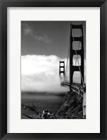 Framed Golden Gate Fog