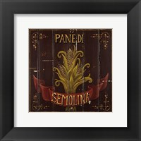 Semolina Framed Print