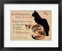 Framed la Bodiniere/Exposition Steinlen