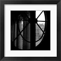 Framed From a Window of the Louvre