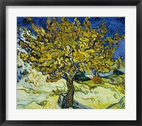 The Mulberry Tree, 1889 Framed Print
