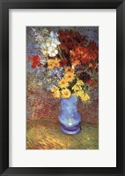 Vase With Anemone Framed Print
