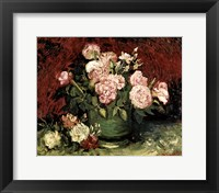 Framed Roses and Peonies, 1886