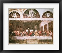Framed Last Supper,