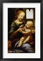 Framed Madonna Benois, c.1478