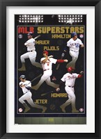 Framed MLB - Superstars 11