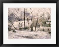 Framed Winter Landscape, 1879