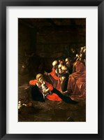 Framed Adoration of the Shepherds