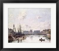 Framed Port of Trade, Le Havre, 1892
