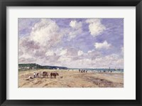 Framed Beach at Tourgeville, 1893