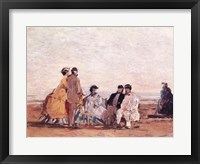Framed On the Beach at Trouville, c.1865