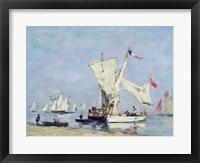Framed Sailing Boats, c.1869