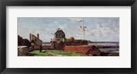 Framed Francois Ier Tower at le Havre, 1852 (