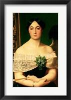 Framed Portrait of Marianne Elisa Birch