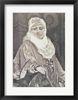 Framed 'La Favorita'- Woman with a Veil