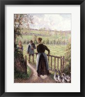 Framed Woman with the Geese, 1895