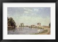 Framed At the River's Edge, 1871