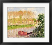 Framed Sunset at Moret-sur-Loing, 1901