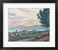 Framed St. Tropez, Pinewood, 1896
