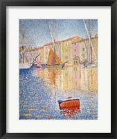 Framed Red Buoy, Saint Tropez, 1895