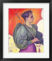 Framed Woman with a Parasol, 1893