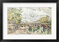 Framed Pont Neuf, Paris, 1927
