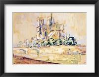 Framed Notre Dame, 1885