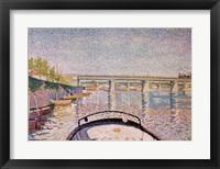 Framed Bridge at Asnieres, 1888