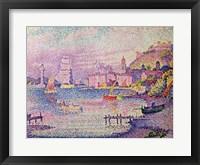 Framed Leaving the Port of Saint-Tropez, 1902