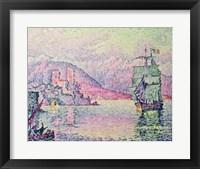 Framed Antibes, Evening, 1914