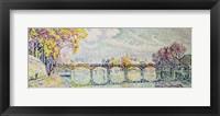 Framed Pont des Arts, 1928