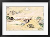 Framed Pile of Sand, Bercy, 1905
