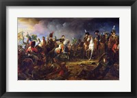 Framed Battle of Austerlitz