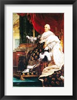 Framed Louis XVIII