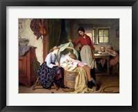 Framed Newborn Child