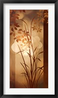Golden Heights I Framed Print