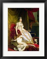 Framed Empress Josephine