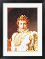 Framed Napoleon I