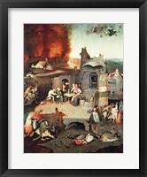 Framed Temptation of Saint Anthony, c.1500
