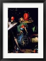 Framed Last Judgement (Altarpiece): Detail of an Urn