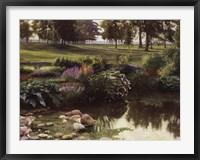 Framed Summer Pond