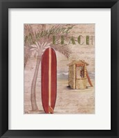 Surf City I Framed Print